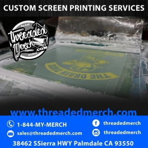 Quality Screen Printing, Waterbased, Plastisol,  Specialty Inks