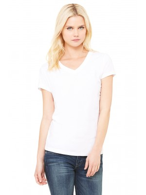 Bella + Canvas B6005 Ladies' Jersey Short-Sleeve V-Neck T-Shirt DTG