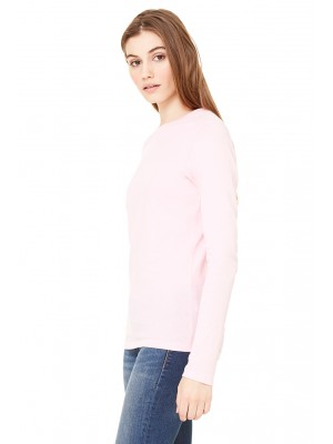Bella + Canvas B6500 Ladies' Jersey Long-Sleeve T-Shirt