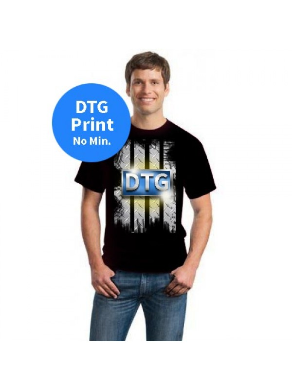 1301 alstyle mens t shirt dtg printing for T shirt printing in palmdale ca