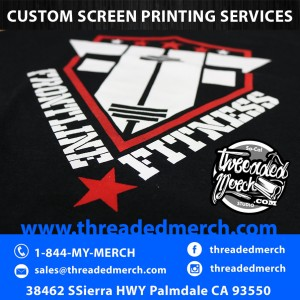 Custom Printed Athletic Gym Shirts - Fitness Shirts