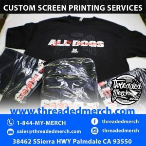 Santa Clarita Custom Screen Printing - T Shirt Printing