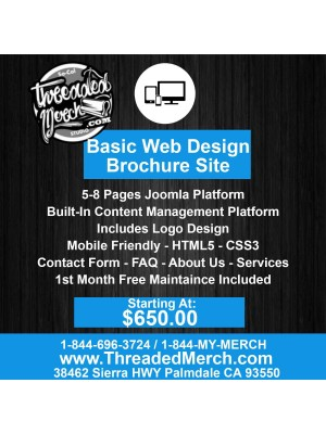 Basic Web Design - Brochure Site