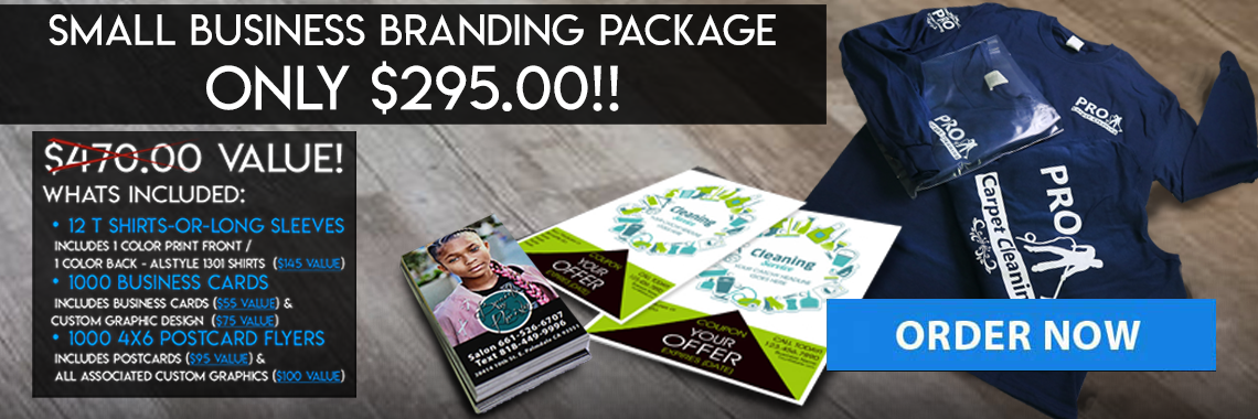 Small Business Design & Print Package