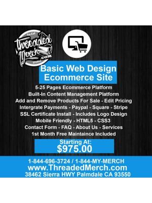 Basic Commerce Web Site Design