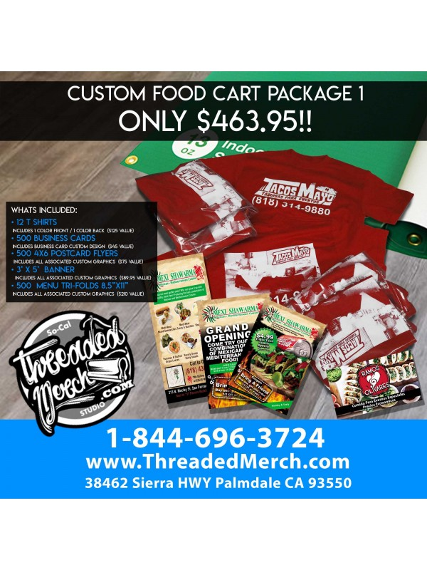 THE FOOD CART PACKAGE 1