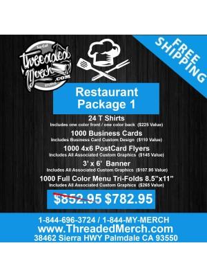 Restaurant Package 1