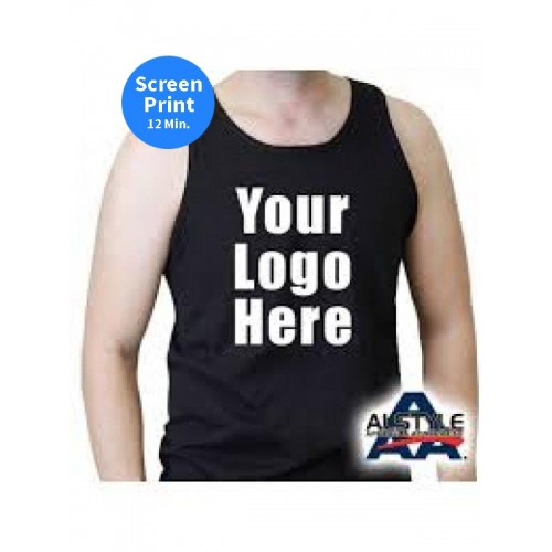 1307 100% Cotton Adult Tank Top 6.0 oz.