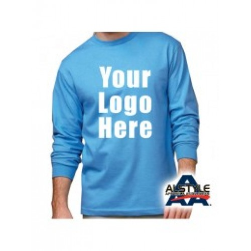 1304 100% Cotton Long Sleeve Shirt Alstyle