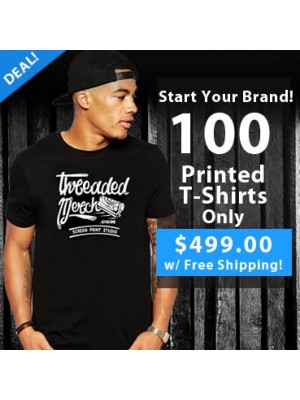 100 Custom Screen Printed T Shirts Special