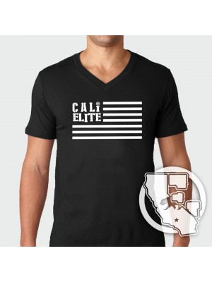 Cali Elite - Flag - V Neck