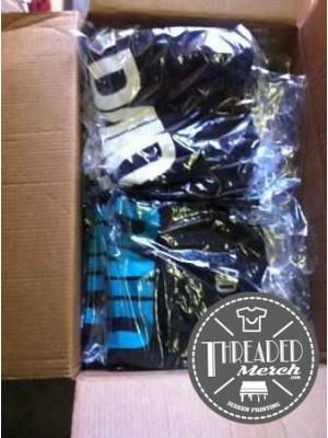 12 Custom Full Color Super Soft DTG Tees