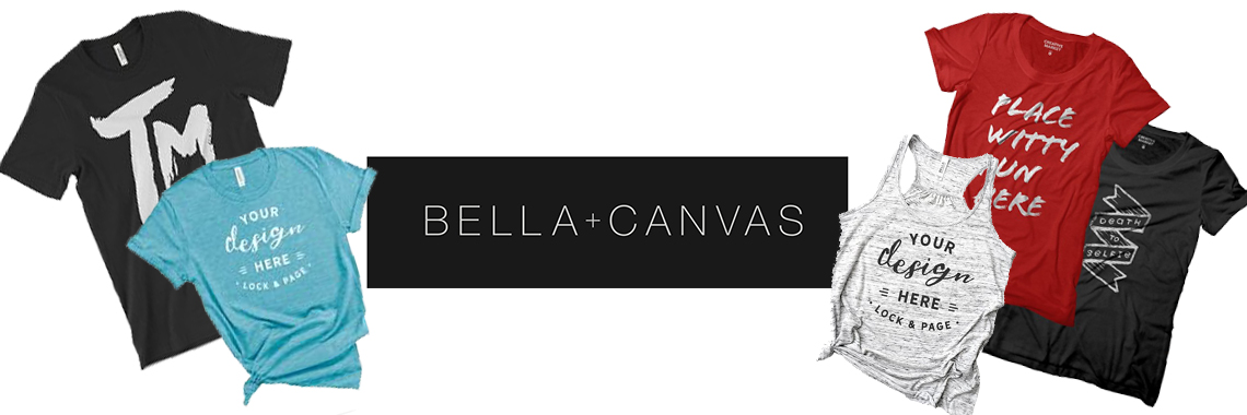 Bella Canvas - Threaded Merch - Palmdale Screen Printing - Los Angeles Best Graphic Design Services - Web Designer - Logo Design