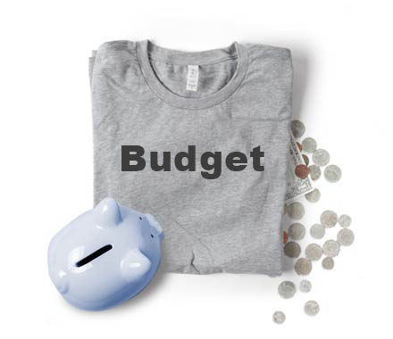 Custom Printed Cheap Budget T Shirts
